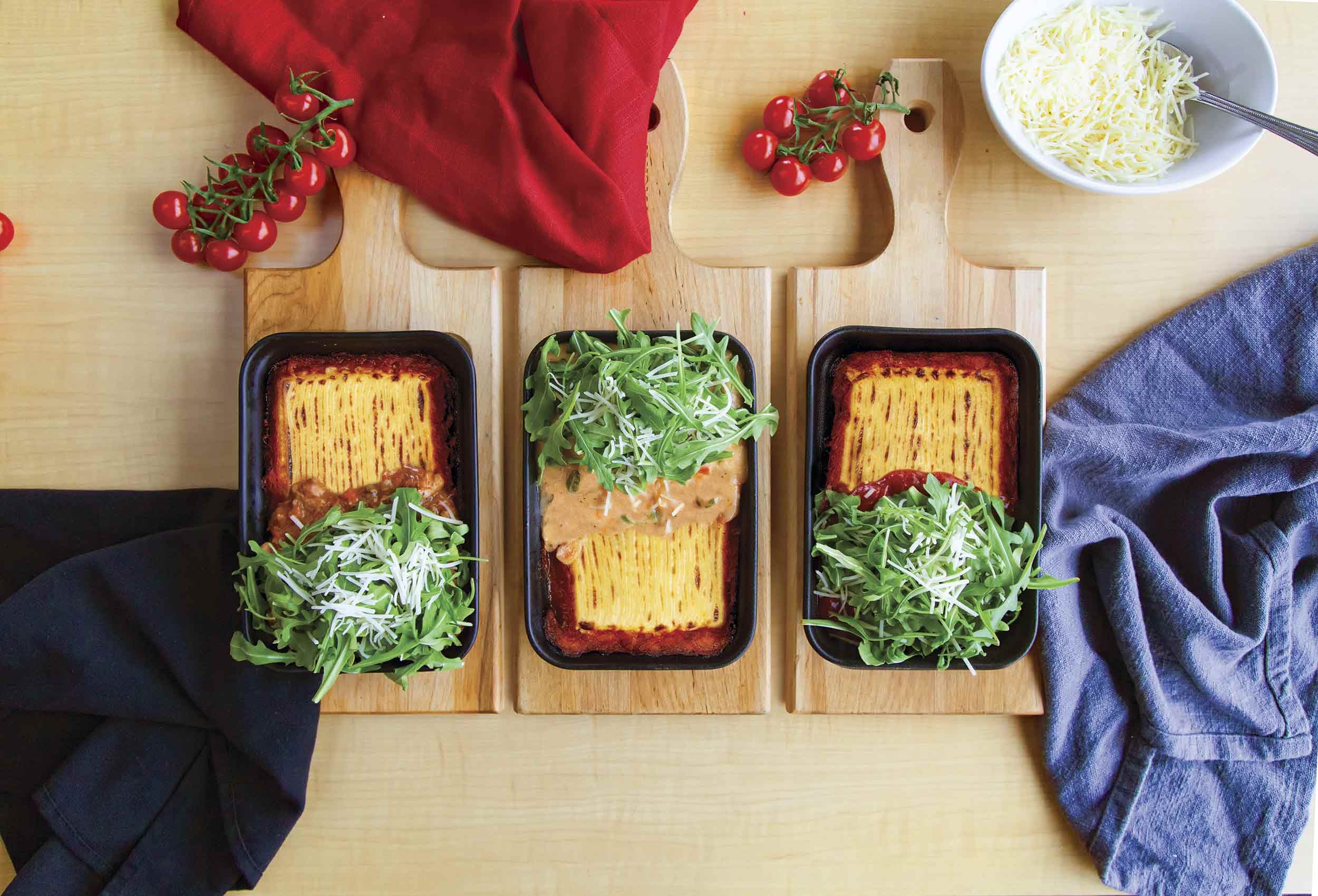 Pacini restaurant italien - Lasagnes millefeuilles